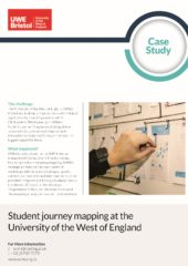 2019 – Student Journey Mapping – UWE