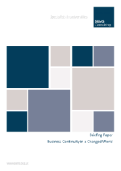 SUMS Briefing Paper – Business Continuity – October 2020_Page_1